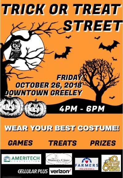 Trick Or Treat Street Flyer